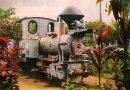 O antigo trem de mate em Sete Quedas<BR><BR>