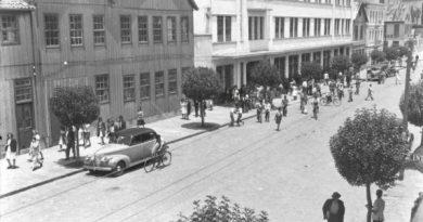 Filmagem americana do Sul do Brasil em 1942<BR><BR>