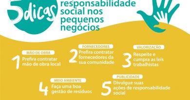 Sebrae mapeia cinco dicas para responsabilidade social nos pequenos negócios<BR><BR>