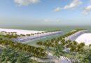 Projeto em praia paranaense prevê engordamento de 70 metros na faixa de areia<BR><BR>